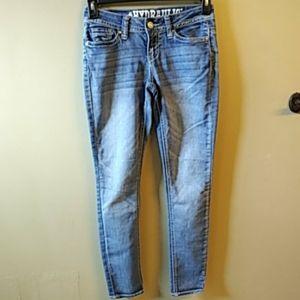 Hydraulic Faded Curvy Lola Embellished Jeans 1/2